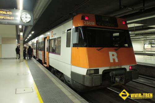 Rodalies de Cataluña pone en marcho el Tren Blanco Barcelona – La Molina – Puigcerda