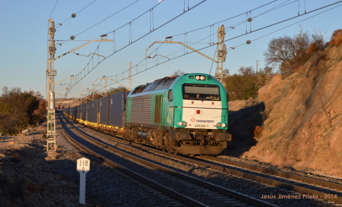 El tren directo entre China y España ya está en Madrid