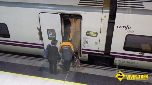 El servicio Atendo de Renfe atendió a 625.360 en 2014