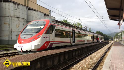 Tren Renfe carnaval