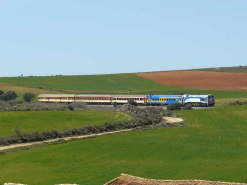 El 21 de febrero tren histórico Madrid Chamartín – Medina del Campo