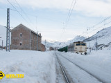 Tren nieve Asturias