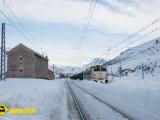 Tren nieve estacion Busdongo