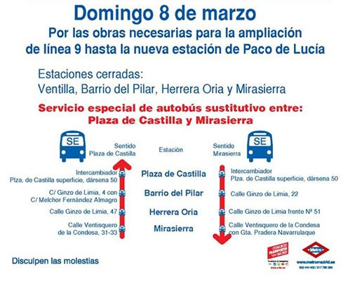 Metro Madrid Línea 9