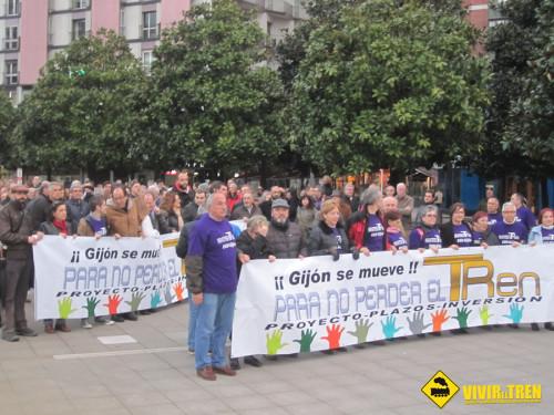 Perder tren Gijón