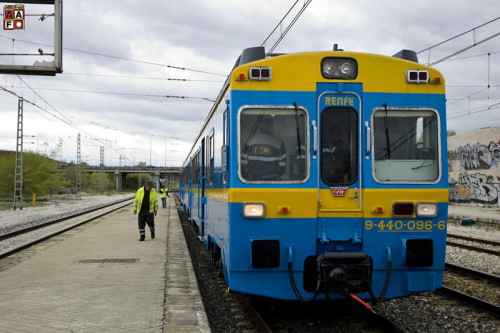 Viaje especial Madrid Chamartín – Alhama de Aragón en el tren histórico UT440.096