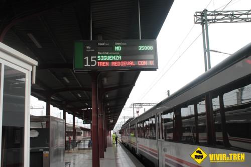 Temporada 2015 del Tren Medieval Madrid – Guadalajara – Sigüenza