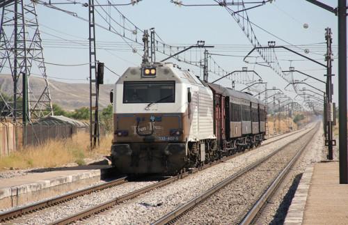 Temporada 2015 del Tren de la Fresa entre el Museo del Ferrocarril de Delicias y Aranjuez