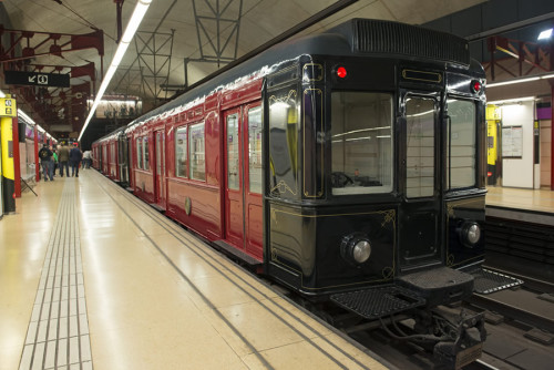 Tren histórico TMB