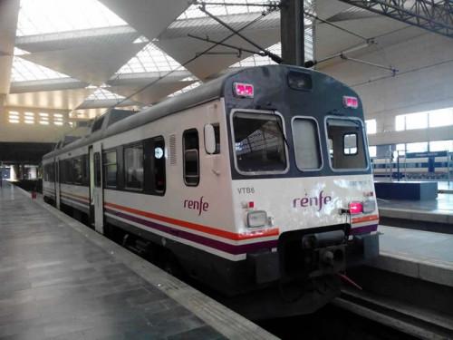 Tren obra Canfranc