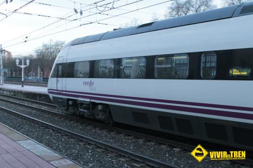 Nuevo servicio ALVIA Irún – San Sebastián – Madrid