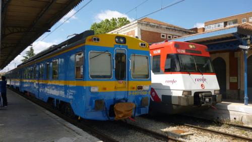 Viaje especial Madrid Chamartín – Sigüenza en el tren histórico UT440.096