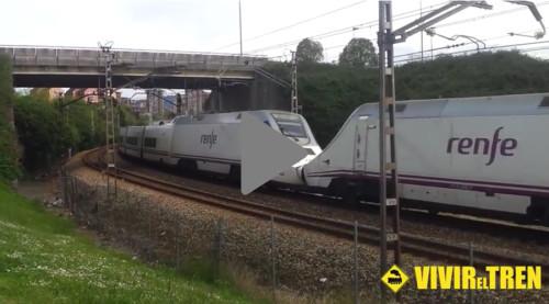 Tren Alvia doble composicion
