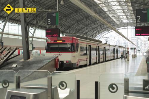 Tren Cercanías País Vasco verano