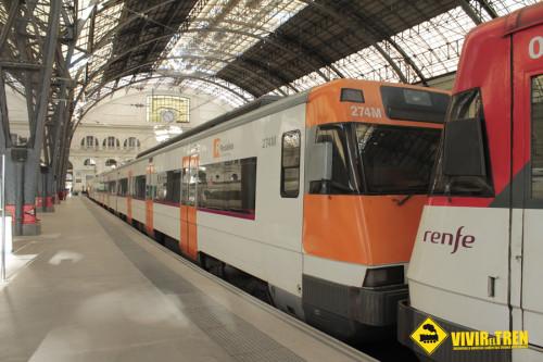 Más trenes de Rodalies durante el verano a la Playa de Castelldefels