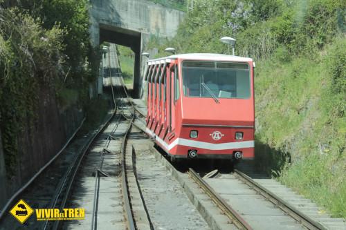 Tren cremallera Artxanda