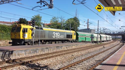 Tren mercancías Mérida