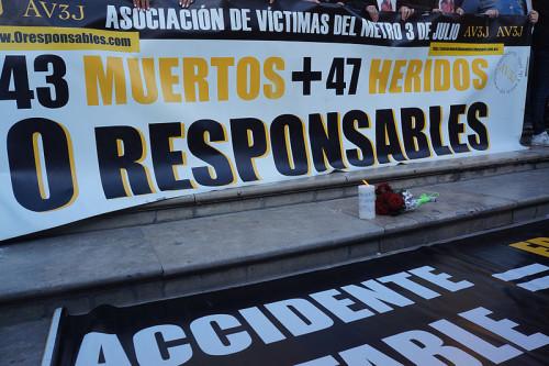 Tras 9 años y 105 concentraciones, el 3 de julio última concentración de las víctimas del metro de Valencia