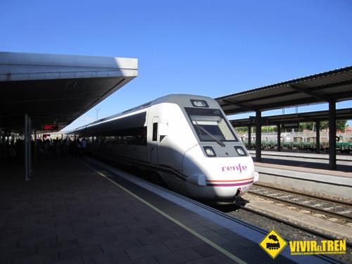 Cambio de horario en el tren MD Valladolid – Salamanca que hace de enlace para los viajeros procedentes de Barcelona