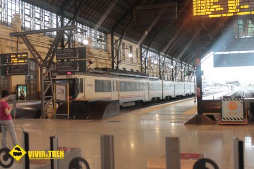 Tren Castellon Valencia