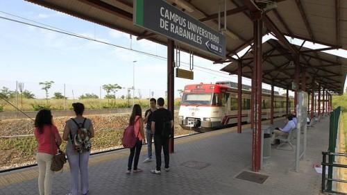 Horarios trenes Córdoba – Campus Universitario de Rabanales curso 2015/2016