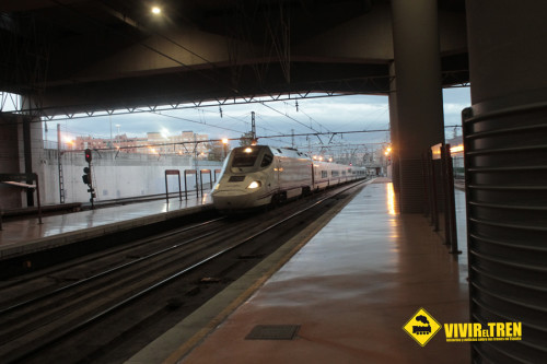 Tren Alvia Santander