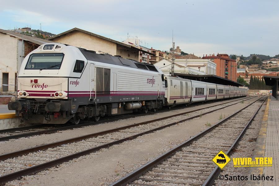 Trenhotel Granada Barcelona En Una De Sus Ultimas Circulaciones Vivir El Tren Historias De Trenes