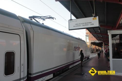 El AVE a Palencia y León ya está en marcha. Viaje inaugural