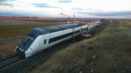 Tren Manzanares accidente