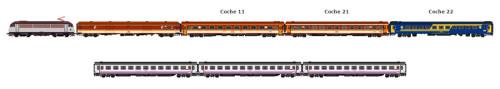 Todo listo para un nuevo viaje del Tren de la Gachas a Alcázar de San Juan