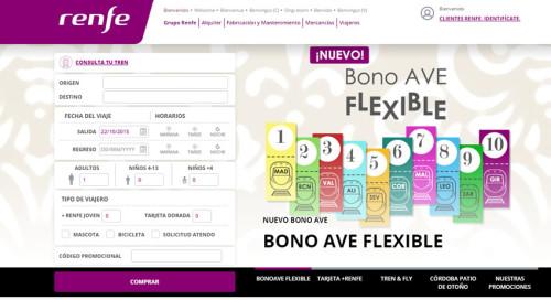 Ahora compra los billetes en la web de Renfe en solo 3 pasos