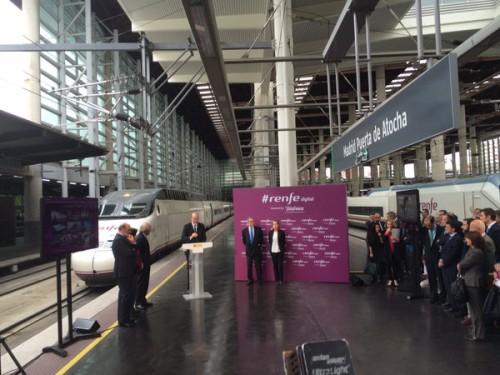 La conexión WiFi a bordo de trenes y en estaciones comienza a funcionar a cargo de Telefónica
