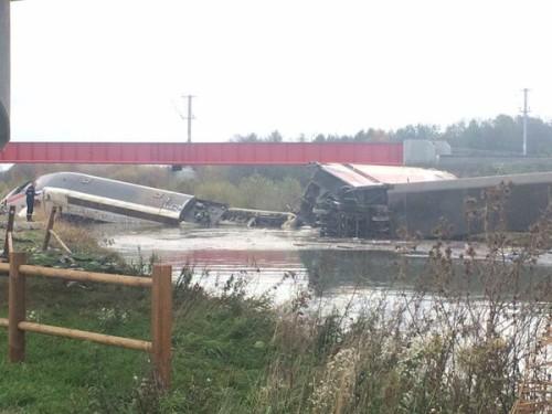 Un tren de Alta Velocidad TGV francés en pruebas ha descarrilado en Estrasburgo