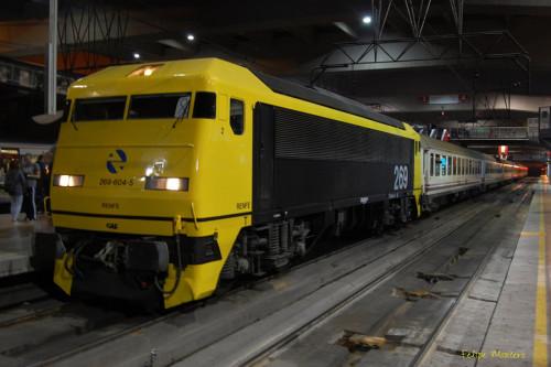 Viaje especial Madrid Chamartín – Valladolid en el tren histórico de los 80