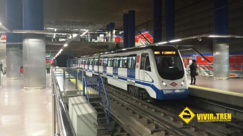 Metro Madrid perro