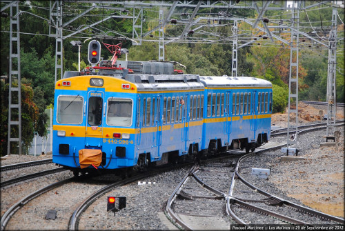 Viaje especial Madrid Chamartín – Valdepeñas en el tren histórico UT440.096