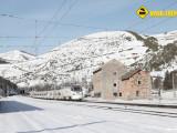 ALVIA nieve Busdongo