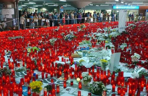 12º aniversario en recuerdo a las víctimas de los atentados del 11 de marzo de 2004 en Madrid