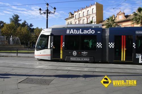Funcionamiento del Metro de Sevilla durante la Feria de Abril