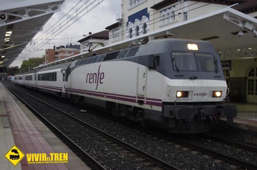 Renfe reduce a 3 coches la composición del tren Arco Galicia – País Vasco