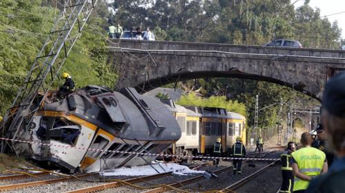 El exceso de velocidad la causa del accidente del Tren Celta Vigo – Oporto en O Porriño
