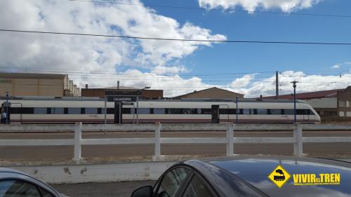 tren obras Logrono