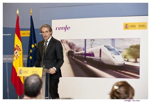 Los nuevos trenes de Talgo tendrá pantallas en los asientos, alcanzarán los 330 km/h y los asientos tendrán una disposición 3+2