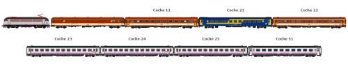 El Tren de las Gachas circulará este fin de semana entre Madrid y Alcázar de San Juan