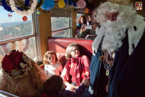 El Tren de los Reyes Magos circulará estas navidades cargado de magia