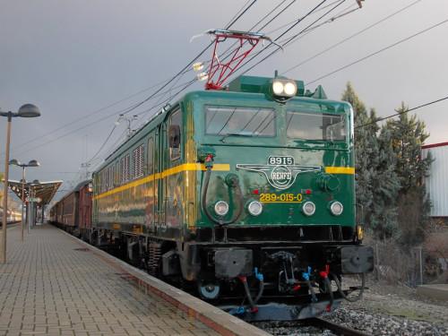 El Tren de la Navidad circulará durante navidades desde la estación de Príncipe Pío