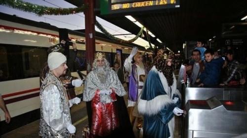 A varias ciudades llegarán los Reyes Magos en ferrocarril el 5 de enero