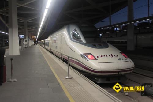 Tren AVE Fallas
