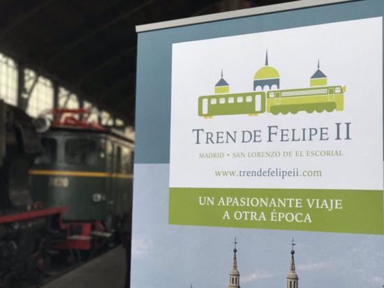 "Nuevo tren turístico ""Tren de Felipe II"" Madrid Principe Pio – El Escorial operado por Alsa Rail"
