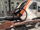 Accidente tren Estación Francia